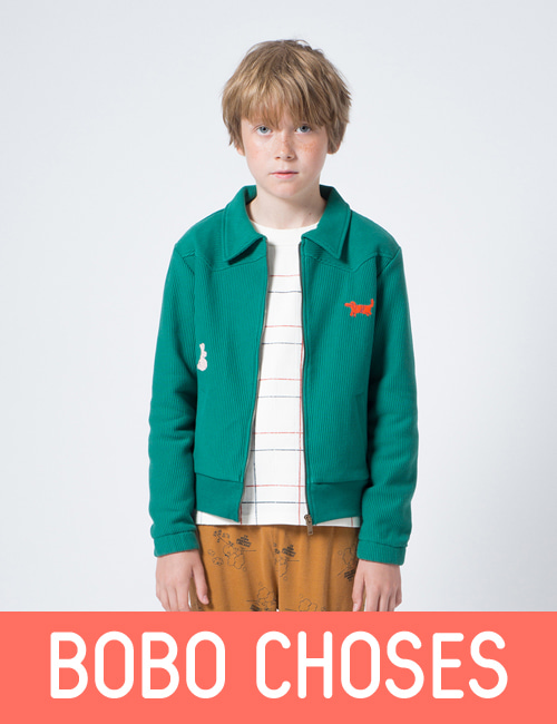 Rabbits Zipped Jacket  [2-3Y, 4-5Y, 8-9Y, 10-11Y]
