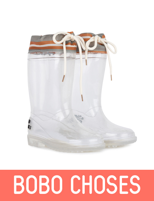 Laces Rain Boots Kid [last 29]